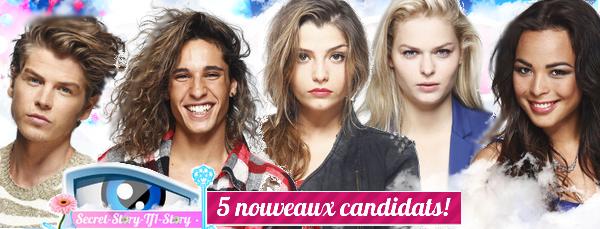 Secret Story 7: 5 nouveaux candidats!