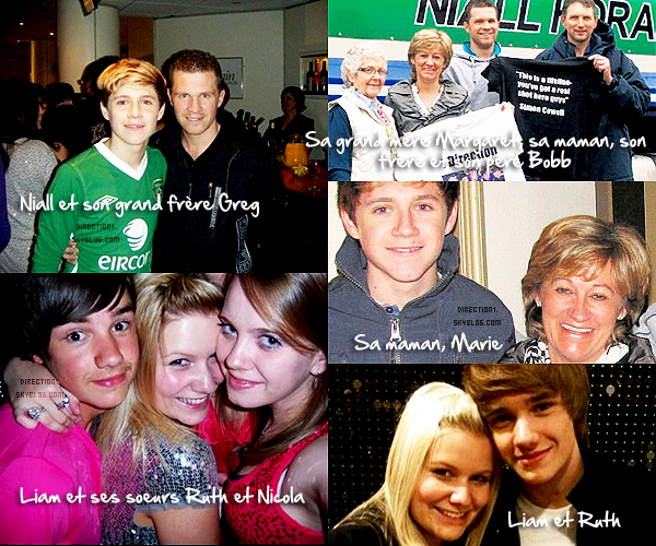 Découvrez la famille des One Direction