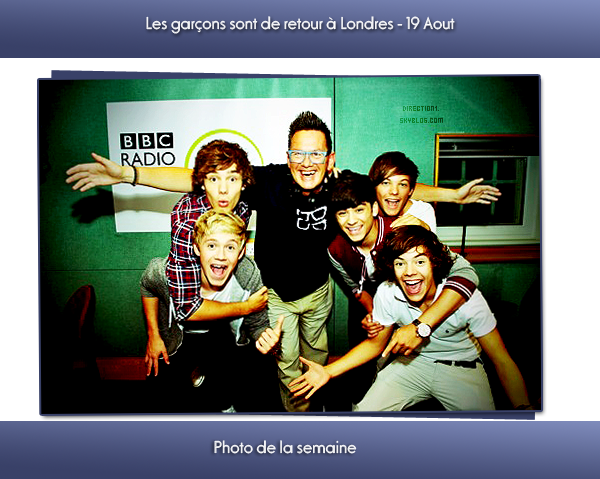 One Direction + Photo de la semaine