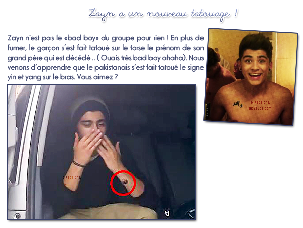 Zayn Malik + Twitter + Prestation à Red Or Black