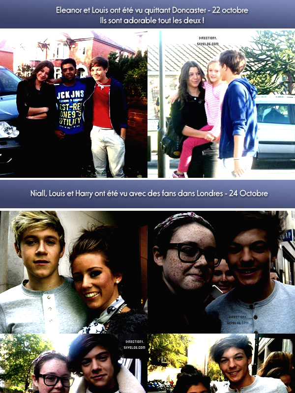 Eleanor & Louis + Interview + Photoshoot + Photos de fans + Gotta Be You