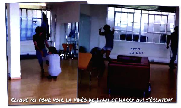 Vidéos des garçons au bootcamp + Photo et vidéo twitter