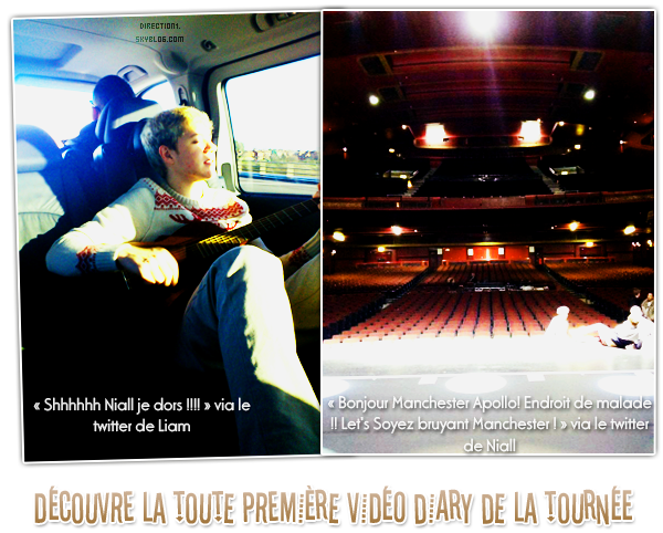 One Direction Tour + Video Diary