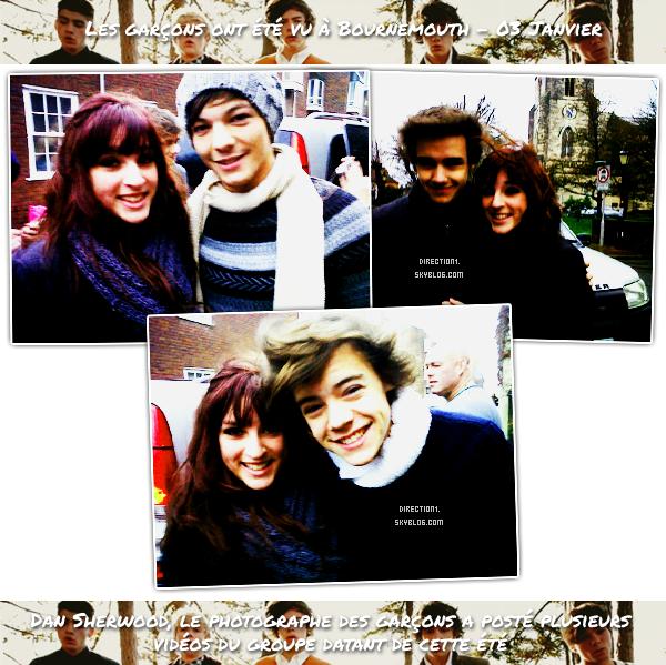 Louis & Eleanor + Milkshake city + Fans