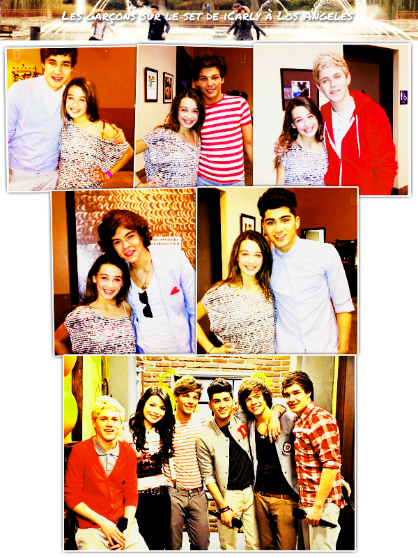 Photos de fans + Icarly + Photoshoot