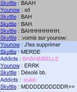 Younow , Skyttle , Moi MDDDDR !♥