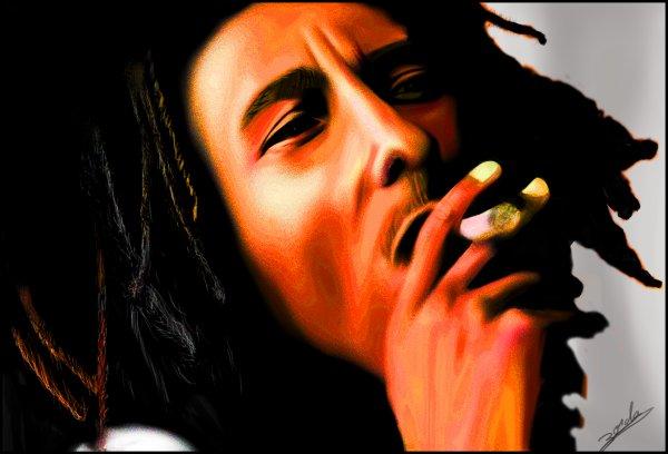 Les nuages sont la preuve que même mort Bob Marley fume encore