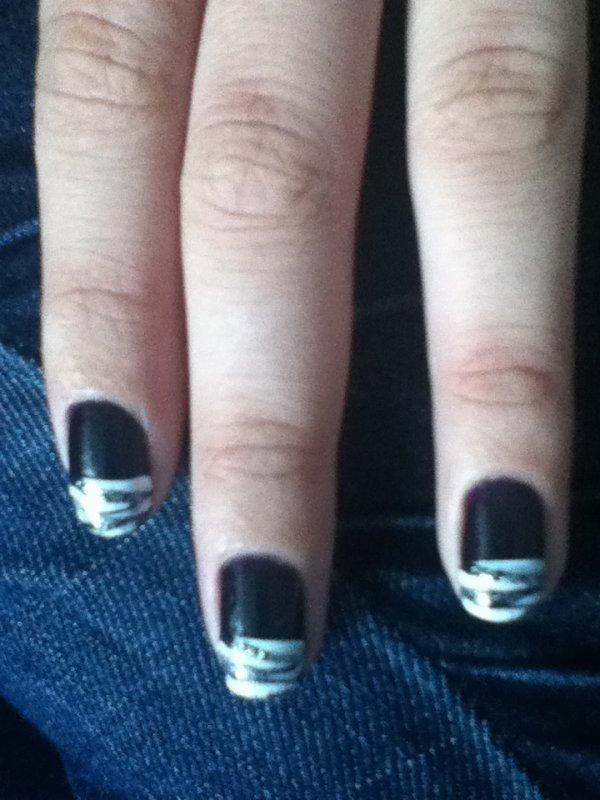 nail art de soiré