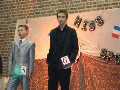 Mes enfants lors du concours miss sportifs