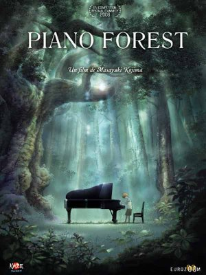 Piano Forest - Film d'animation