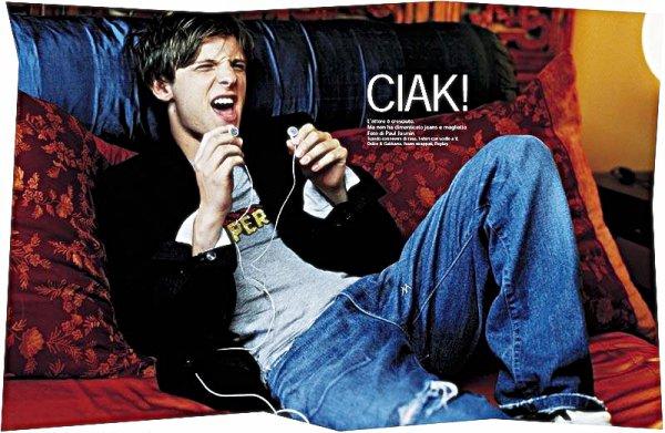 Photoshoot pour un magazine italien ~ juin 2005