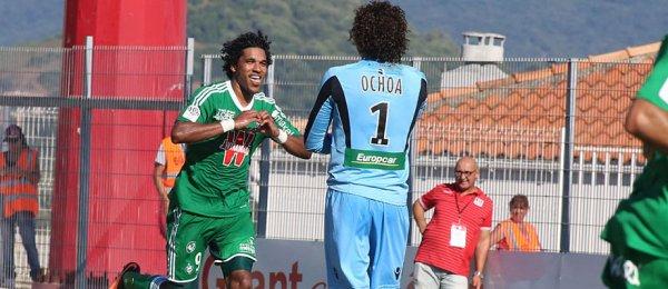 Ajaccio 0-1 ASSE : Première réussie pour les Verts
