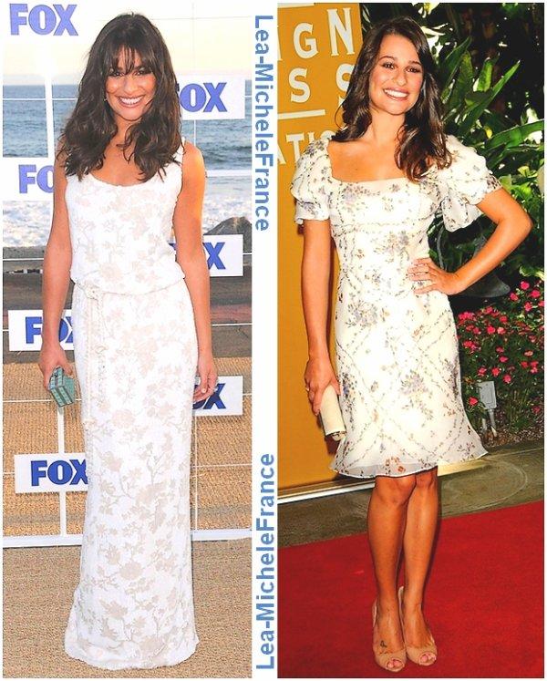 Voici deux events de Lea au mois d'août. Quelle tenue préférez-vous ? Vos avis ?! :D