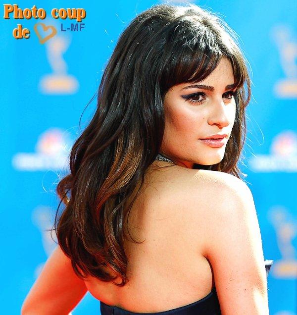 Article flashback - Lea aux 62ème Emmy Awards le 29/08/2010. N'est-elle pas magnifique ?!!!