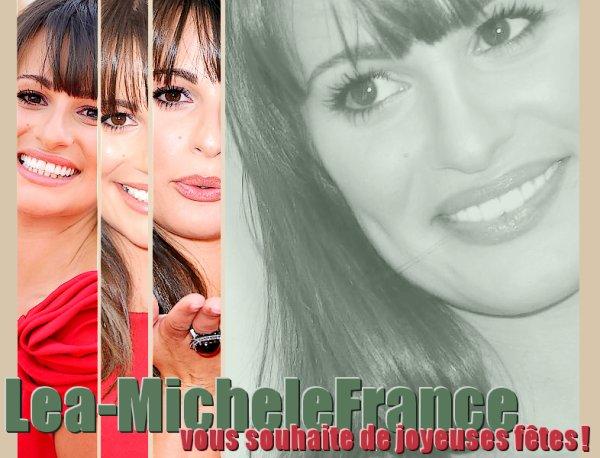 Et oui votre blog Lea-MicheleFrance fête aussi Noël !!! ;D