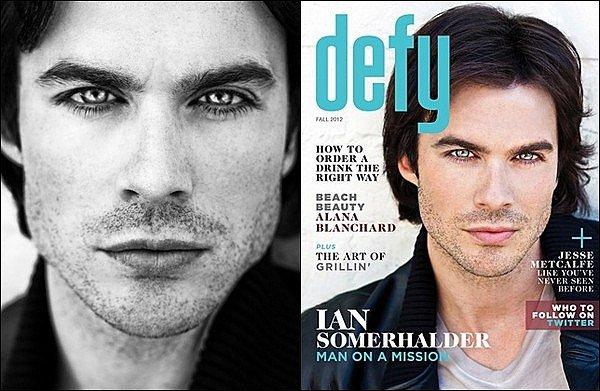 . Ian pour DEFTY Magazine de l'autonme 2012. Vos avis ?
