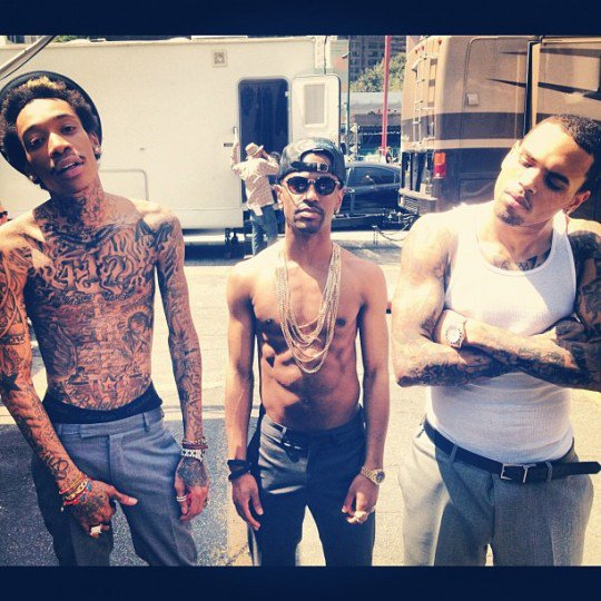 Chris Brown ft Wiz Khalifa & Big Sean-Til I Die