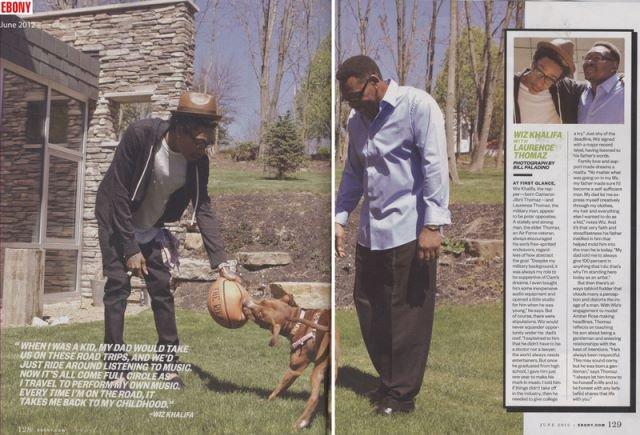Wiz Khalifa & Son Père