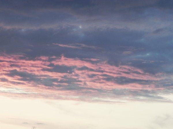 Ciel devant chez moi ;) *-* ♥♥