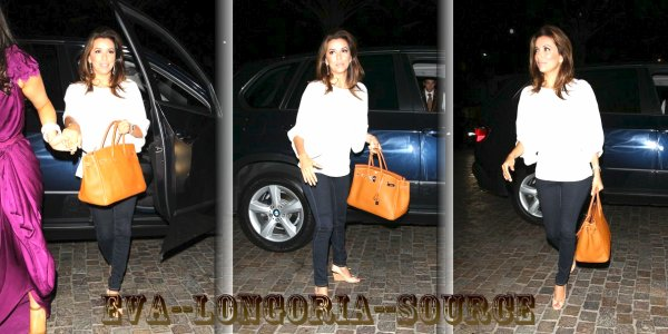 Photos :22 Août 2011 ; Eva Longoria à son arrivé à l'Hotel Montage de Beverly Hills, où elle a retrouvé Eduardo Cruz.
