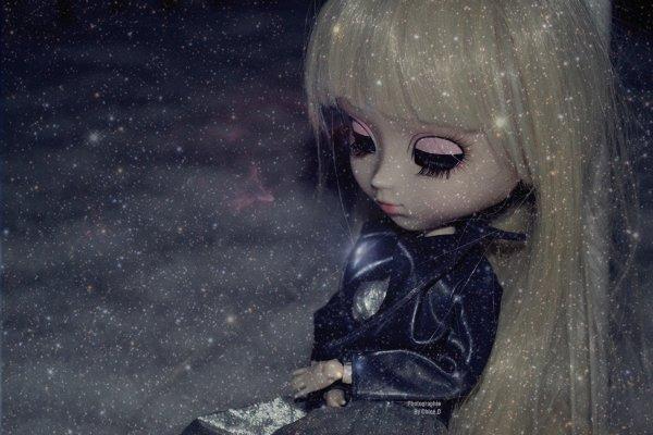 Julia dans la neige :3