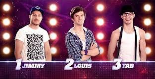 Jimmy, Louis, et Tad sont nominé