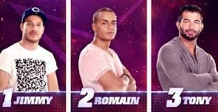 Jimmy, Romain, Tony sont nominée