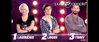 Laurène, Louis, et Tony sont nominés
