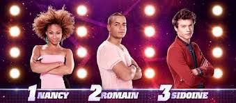 Les trois nominés sont Nancy, Romain, Sidoine !