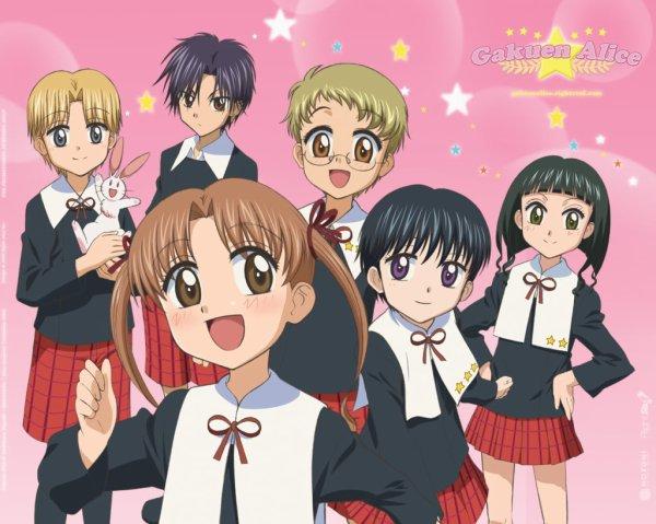 Manga : Alice Academy