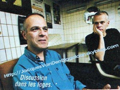 Luc Gilson et Jacques Van Den Biggelaar: En scène, une fois!