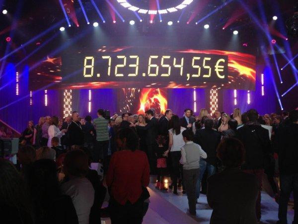 Record battu pour le Télévie 2013