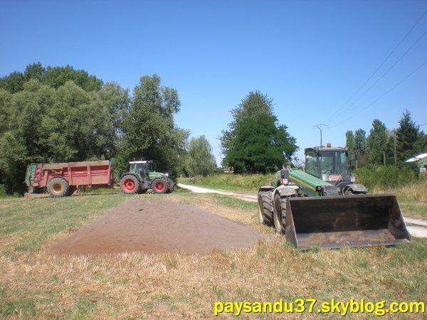 Epandage de compost 2010