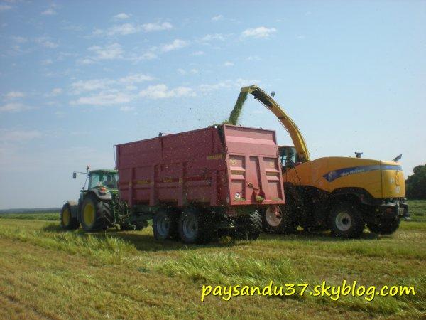 Ensilage d'herbe 2011