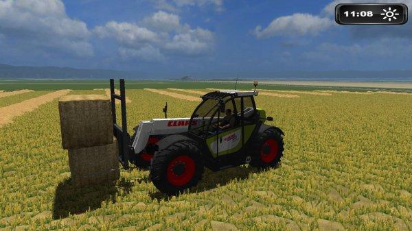 Farming Simulator 2011 - Pressage de paille