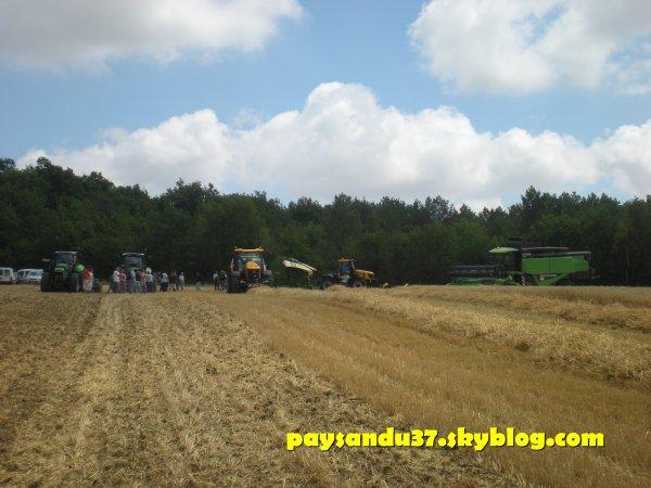 Demonstration Deutz Fahr - Krone - JCB - Amazone