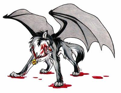 Loup d mon enrag blog de animaux mangas57 - Aile de dragon dessin ...