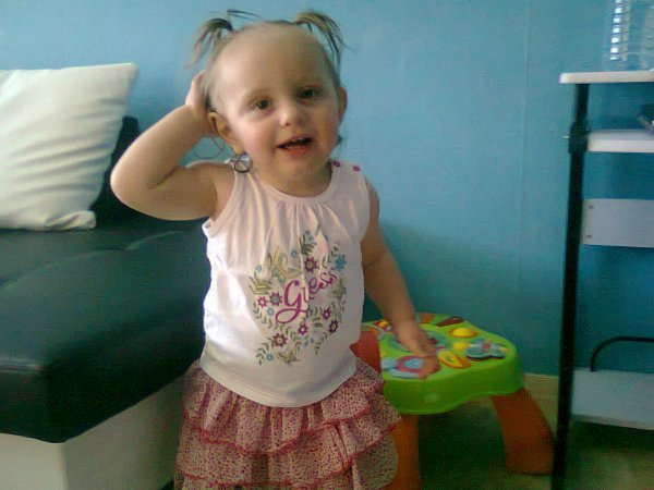 ma princesse a 14mois