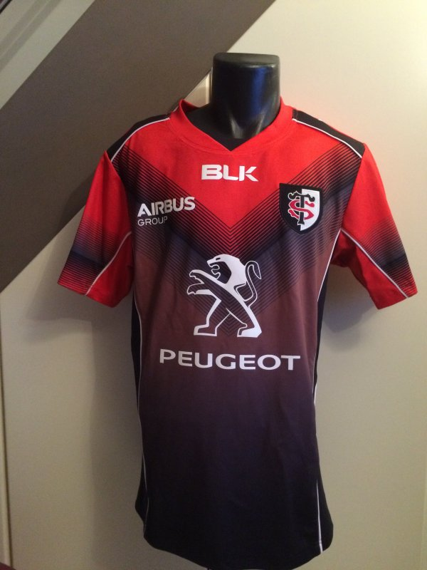 maillot rouge entra nement stade toulousain saison 2014 2015 voici ma collection de maillots. Black Bedroom Furniture Sets. Home Design Ideas