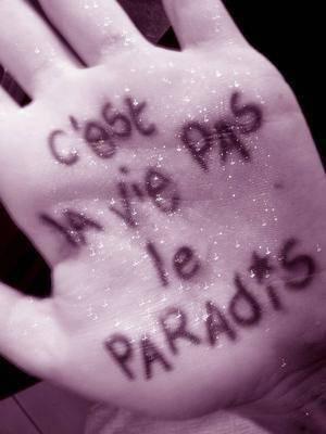 La vie ... est ce un rêve ou une punition ?