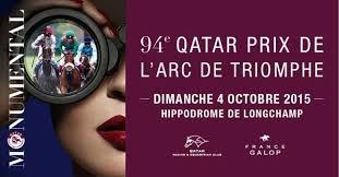 Dimanche 4 octobre - Quinté  - Longchamp - Qatar Prix De L'Arc De Triomphe - 18 partants - 2400m - Grande piste - piste en herbe - corde à droite - lice à 0 mètre - Groupe I - 5.000.000