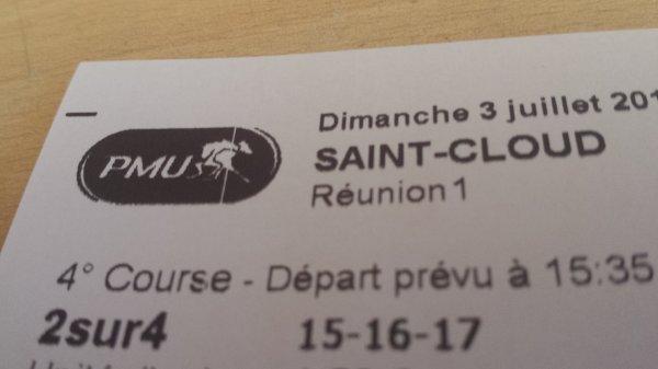 Ticket du dimanche