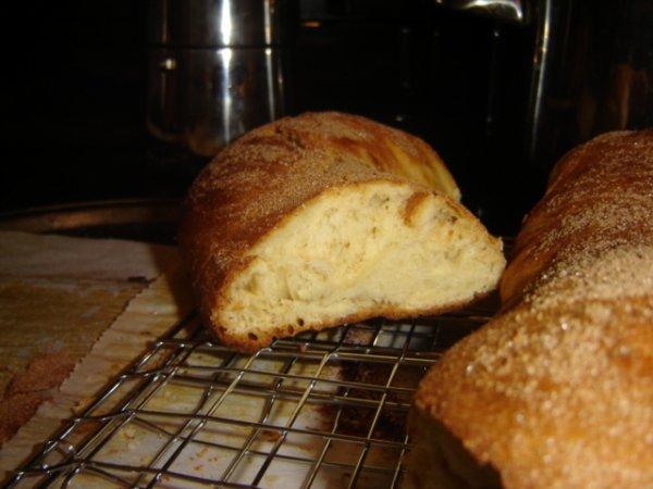 j'ai enfin réussi a faire mon pain brioché :D