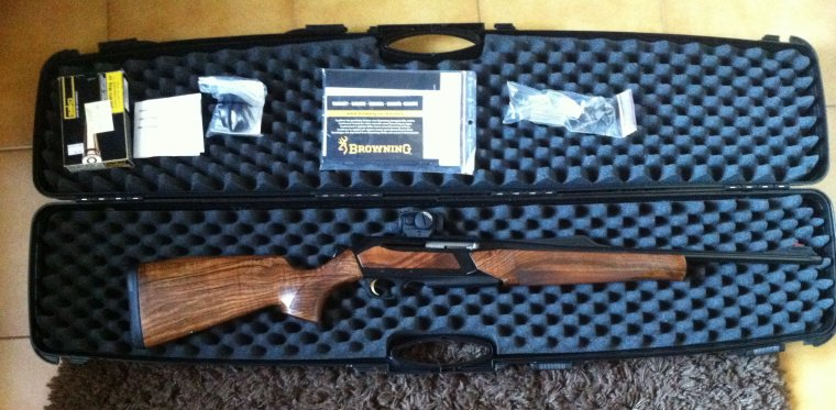 Browning Bar Zénith Prestige Wood, La voila !