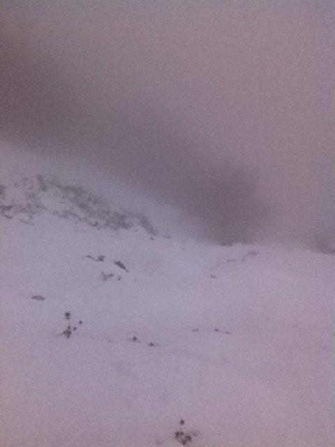 Samedi 30 Novembre 2013 : La neige c'est beau, mais ça fatigue !