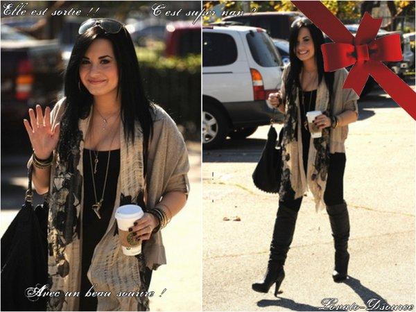 Demi Lovato ! Sortie du centre de cure !