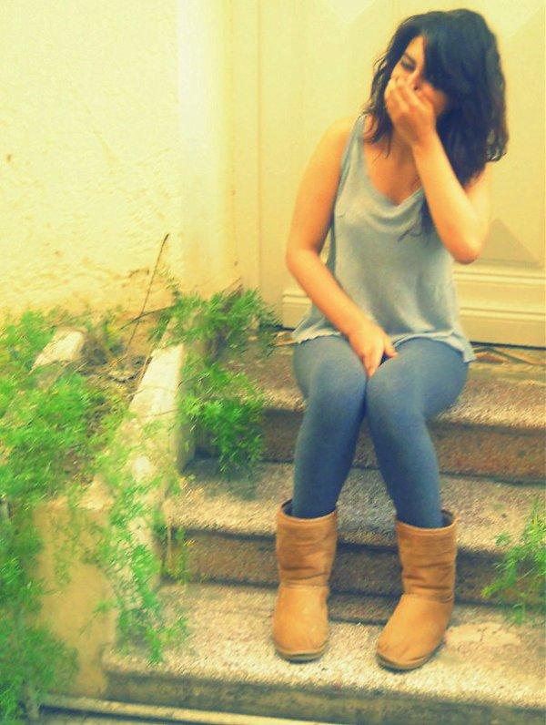 """""""N'attends pas d'être heureux pour rire : commence par rire sans raison, et tu seras heureux"""