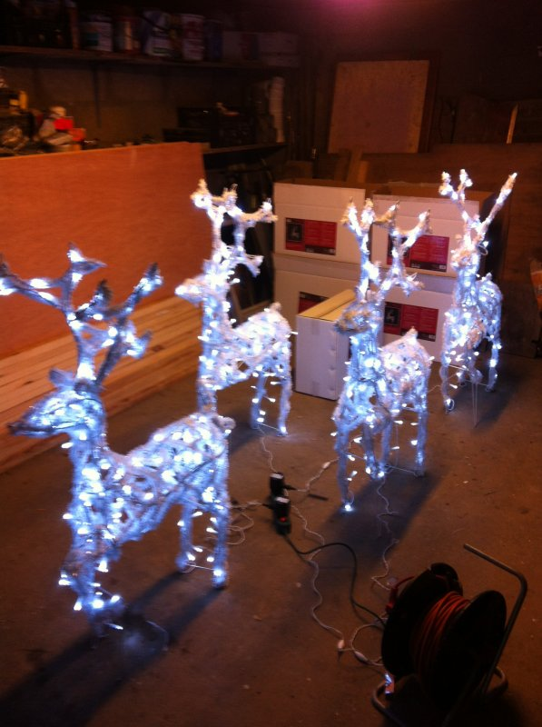 Début des préparatifs : Illuminations 2012/2013.