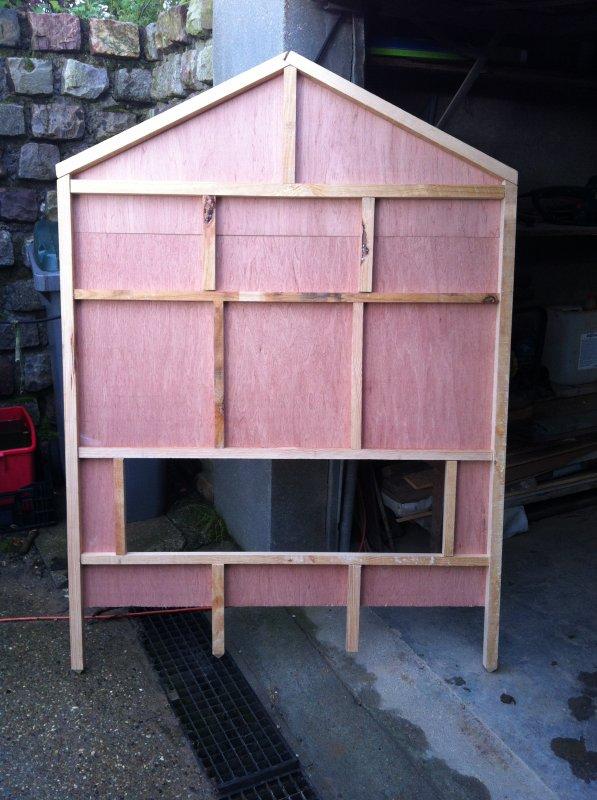 Création d'une cabane de Noel-Part II