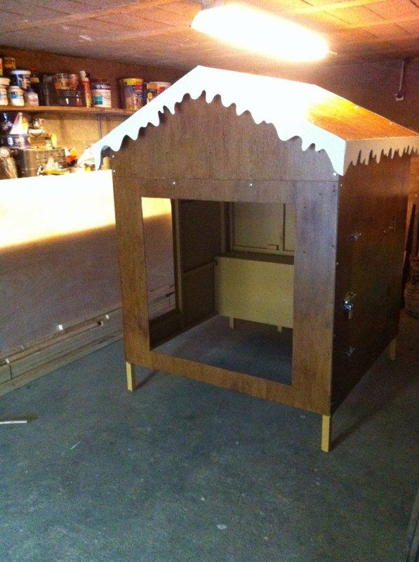 Création d'une cabane de Noel-Part III